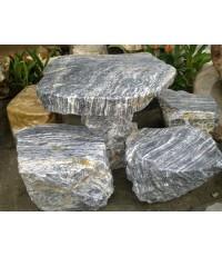 โต๊ะหินอ่อนสีดำ (หินธรรมชาติ)