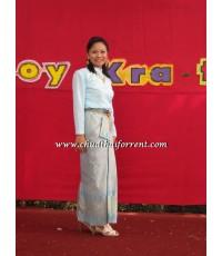 ชุดไทยบรมพิมาน สีฟ้า 000041