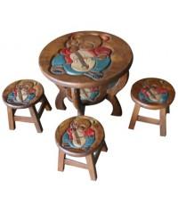 ชุดโต๊ะเก้าอี้สำหรับเด็ก