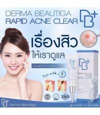 ครีมแต้มสิว Derma Beautiga Rapid Acne Clear