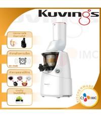 เครื่องคั้นน้ำผลไม้เพื่อสุขภาพ NUC Kuving Whole Slow Juicer B6000W (White) CJ IMC