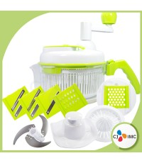 ILO อุปกรณ์เตรียมอาหารอเนกประสงค์ รุ่น PS-2000E (สีขาว-เขียว)
