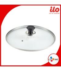 ILO Titanium Glass Lid อิลโล่ ฝากระทะ 28 ซม.