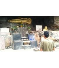 พระพุทธไสยาสน์ถ้ำภูค่าว อำเภอสหขันธ์-อำเภอคำม่วง จ.กาฬสินธุ์