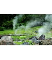 น้ำพุร้อนโป่งกระทิงอำเภอสวนผึ้ง, ราชบุรี