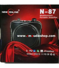 ไมค์-ลำโพงคาดเอว N-87 (USB)