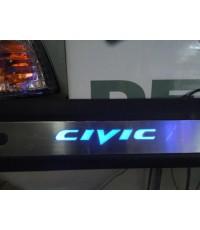 สคัพเพลท Civic แบบมีไฟ
