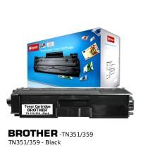 ตลับหมึกเลเซอร์ (Toner Cartridge) คอมพิวท์ For BROTHER TN-351,359BK (Black)