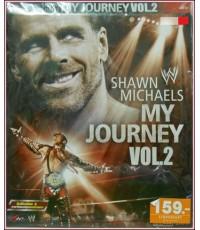 VCD SHAWN MICHAELS MY  JORNEY  VOL. 2 (มวยปล้ำ)