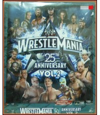 VCD WRESTLE MANIA 25 TH ANNIVERSARY VOL.2