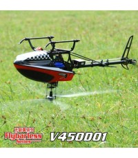 walkera V450d01 3D-helicopter carbon edition 6Ch 2.4 Ghz RTF
