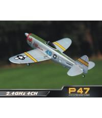 เครื่องบิน 4CH 2.4Ghz Nine eagle Hunter P47 สวยสุดๆ บินง่าย เหมาะกับมือใหม่ครับ บินควง บินตีลังกาได้