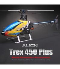 align Trax 450 Plus RTF -6J 2.4Radio ประกอบเสร็จพร้อมบินครบชุดจากโรงงาน