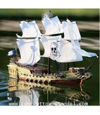 Pirate ship rc เรือสเกลโจรสลัด บังคับวิทยุ งานสวยสุดๆระดับเทพ