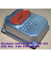 บัลลาสต์(กล่องควบคุมซีนอน)สำหรับไฟหน้า S-Class W220 โฉมแรก ปี 1998-2003