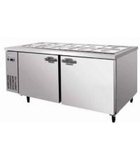 ตู้เย็นสแตนเลสแช่สลัด, ตู้สลัดระบบแช่เย็น