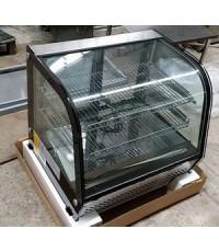 ตู้แช่เค้กขนาดเล็ก อุณหภูมิ +5c ขนาด 69*45*67cm. เป็นรุ่นวางบนเคาว์เตอร์ มี 3 ชั้น