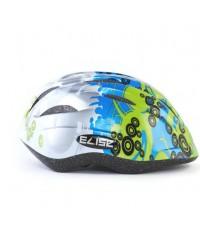 Elise หมวกจักรยานเด็ก - Green/Blue