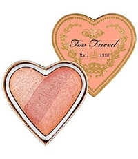 Too Faced Sweethearts Perfect Flush Blush  (Peach Beach) บลัสออนรูปหัวใจ 3 เฉดสีในตลับ น่ารักมากๆ