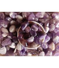หินสีธรรมชาติ Rock-Amethyst