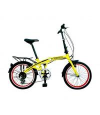 จักรยาน COYOTE Folding Bike BLACK HAWK  7 SPEED