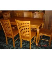 โต๊ะ 1.5ม.แบบขาสิงห์ (5011)
