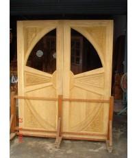บานประตูไม้สัก (8005)