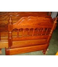 เตียงนอน  ไม้ประดู่  3.5  ฟุต  (  7013 )