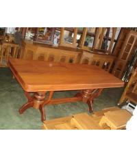 โต๊ะไม้มะค่า แผ่นเดียว ( 5044 )