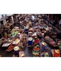 ตลาดน้ำ-กาญจนบุรี 2 วัน 1 คืน (ราคาประหยัด)
