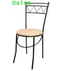 CD-125, เก้าอี้อาหารเหล็ก ที่นั่งไม้