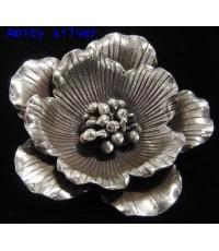 จี้เงินแท้99รูปดอกไม้,PD-Chm-FL_5007