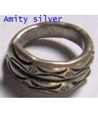 แหวนเงินชาวเขากะเหรี่ยง, R PT-012