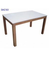 โต๊ะทานข้าวไม้ยางพารา/โต๊ะอาหารไม้ยางพารา, TRB-6