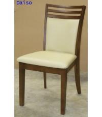 เก้าอี้ไม้ยางพารา/เก้าอี้ทานข้าวไม้ยางพารา/DTP-008 เฟอร์นิเจอร์ไม้ยาง