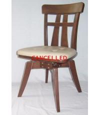 เก้าอี้หมุน ทำจากไม้ยางพารา DF-4,