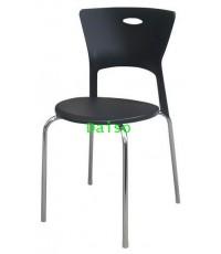 เก้าอี้พลาสติก/CD-217 VOG เก้าอี้พลาสติกขาเหล็ก