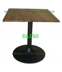 โต๊ะอาหารสี่เหลี่ยม โต๊ะร้านอาหาร