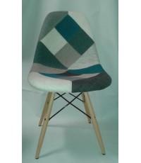 เก้าอี้ผ้าปะแนวเรโทร/เก้าอี้ผ้าPATCHWORK CD-298