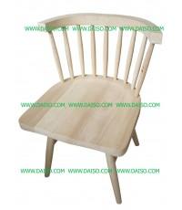 เก้าอี้กินข้าว ที่นั่งไม้ _Y-7