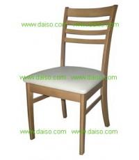 เก้าอี้อาหารไม้ยางพารา/DPC-058 เฟอร์นิเจอร์ไม้ยางพารา