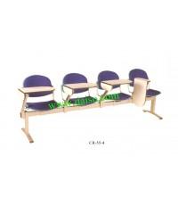 เก้าอี้เลคเชอร์แถว4ที่นั่ง CR-55-4