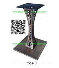 จำหน่าย ขาโต๊ะเหล็ก ขาโต๊ะเหล็กสำเร็จรูป T-204J