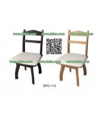 เก้าอี้ทานข้าว ไม้ยางพารา หมุนได้ DPC-112