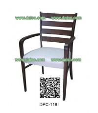 เก้าอั้ทานอาหารไม้ยางพารา DPC-118