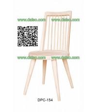 เก้าอี้ทานอาหารไม้ยางพารา DPC-154