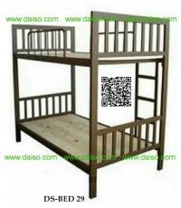 เตียงเหล็ก2ชั้น เตียงนอนเหล็ก2ชั้น ขนาด3.5ฟุต / DS-BED 29