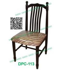 เก้าอี้ร้านอาหาร เก้าอี้อาหารไม้ยางพารา_DPC-802