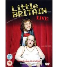 ซีรี่ย์ฝรั่งLittle Britain Live /เสียงอังกฤษ+ซับไทย DVD 1แผ่นจบ (ละครเวที)