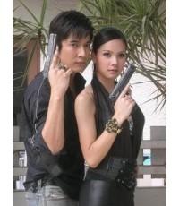 นักฆ่าขนตางอน (วี+หยก) /ละครไทย TV2D 4แผ่นจบ